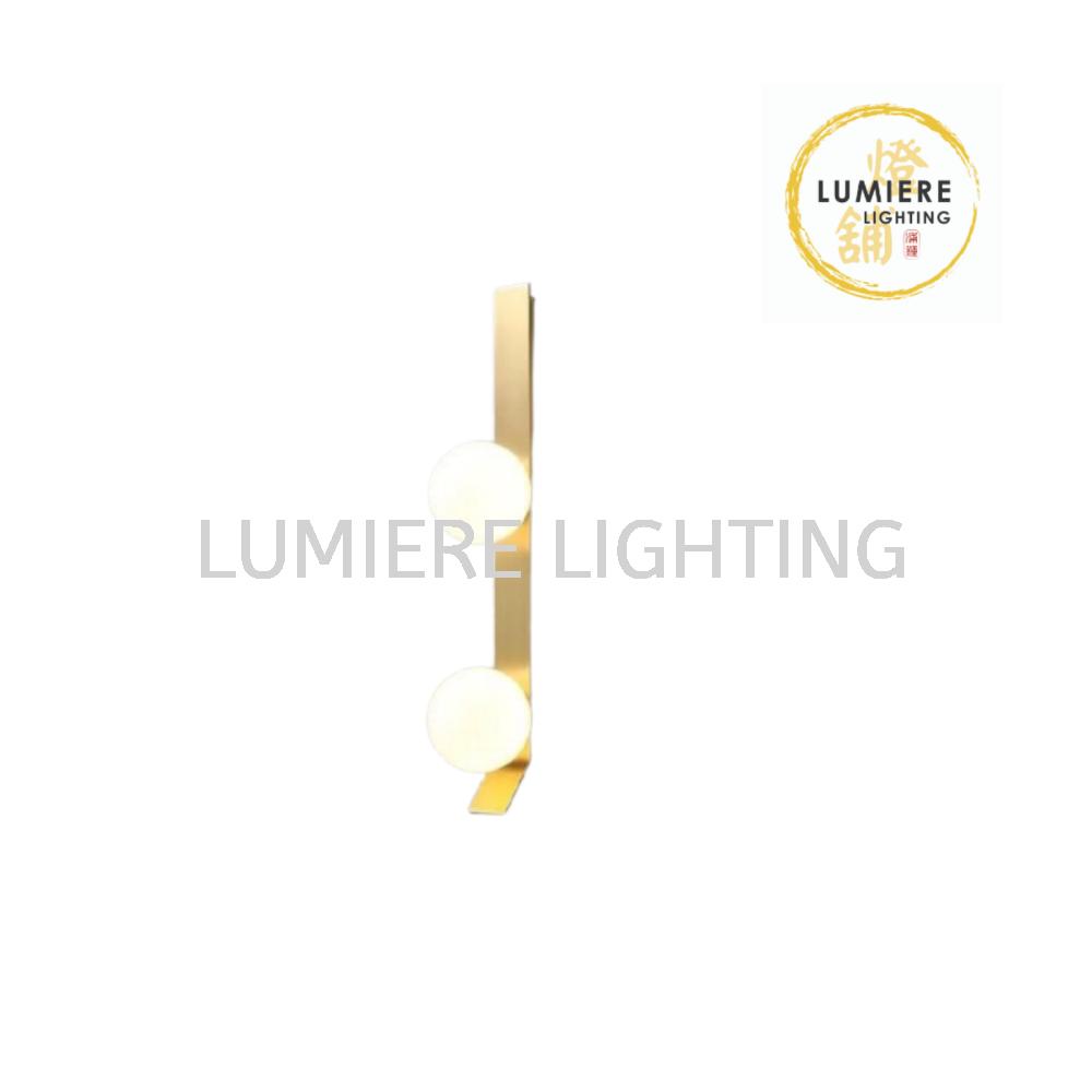 Modern Minimalist Nordic Gold Design Wall Light