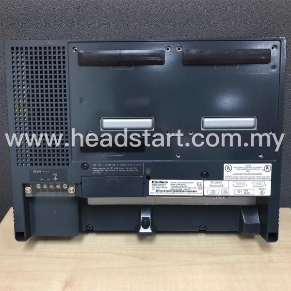 PRO-FACE GP2000 SERIES HMI TOUCH SCREEN PANEL GP2500-TC41-24V MALAYSIA PRO-FACE Selangor, Kuala Lumpur (KL), Shah Alam, Malaysia Supplier, Suppliers, Supply, Supplies   Headstart Technologies Sdn Bhd