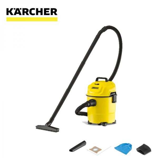 Karcher WD 1 Wet & Dry Vacuum Cleaner Vacuum Cleaner Karcher Penang, Malaysia, Bukit Mertajam Supplier, Distributor, Supply, Supplies   Pen World Machinery Sdn Bhd