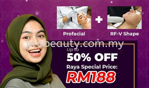 Profacial + RF-V Shape Rm188 ¡ñRaya Special Price¡ñ