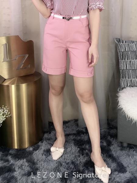 292731 Front Button Bermuda Half Pant 半裤 新款裤子/ 半裙    | LE ZONE Signature