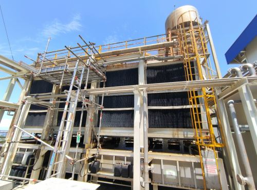 Cooling Tower Project for Japanese Manufacturing Plant At Tanjung Langsat Johor