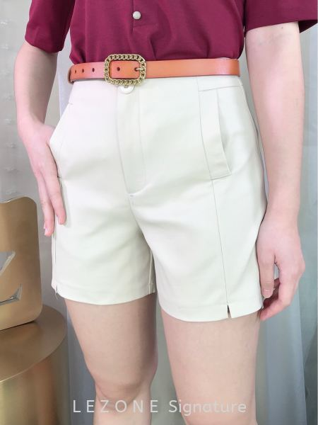364963 Front Split Short Pant Short Pant BOTTOM Selangor, Kuala Lumpur (KL), Malaysia, Serdang, Puchong  | LE ZONE Signature