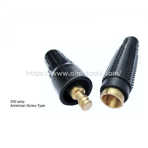 Welding Cable Connector, Japan Type, 500Amp , Pin Type