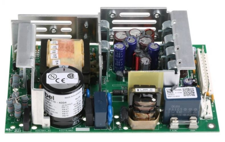 MAP110-4004 BEL POWER SOLUTIONS INC 80W Embedded Switch Mode Power Supply SMPS, 5 V dc, ±15 V dc, ±2