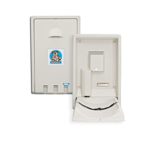KB101-00-INB  Vertical Wall Mounted Baby Changing Station