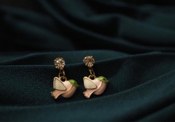 Flying Birds Earrings CARTOON SERIES EARRINGS Kuala Lumpur (KL), Malaysia, Selangor OEM, Supplier, Supply, Supplies   The Keys Jewelry Sdn Bhd
