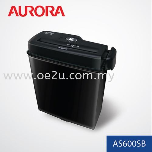 AURORA AS600SB Paper Shredder (Strip Cut)