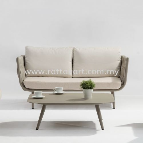 OUTDOOR SOFA BRUCE - 2 SEATER