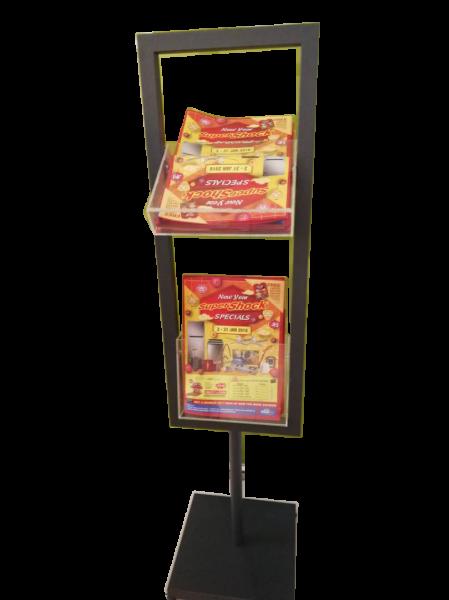 Brochure Holder Standee Display Standee POSM Selangor, Malaysia, Kuala Lumpur (KL), Sungai Buloh Supplier, Suppliers, Supply, Supplies | Sign Net Advertising Services Sdn Bhd