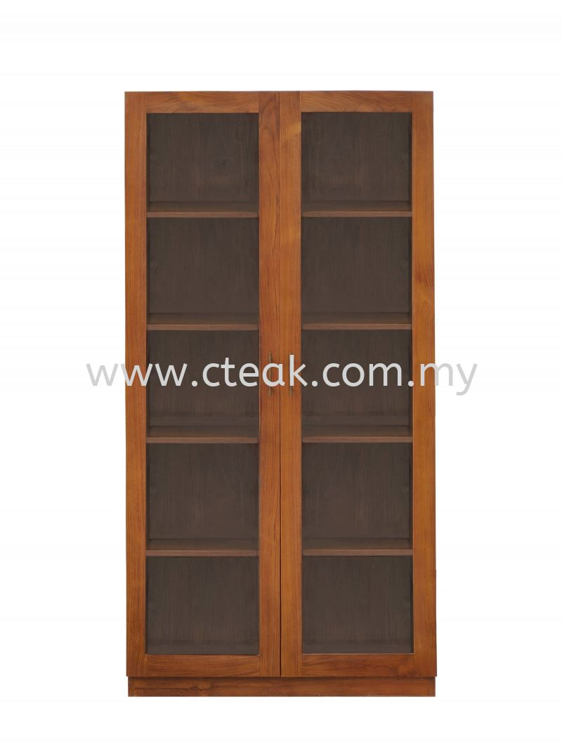 2 Doors Display Cabinet With Glass (Model 229)