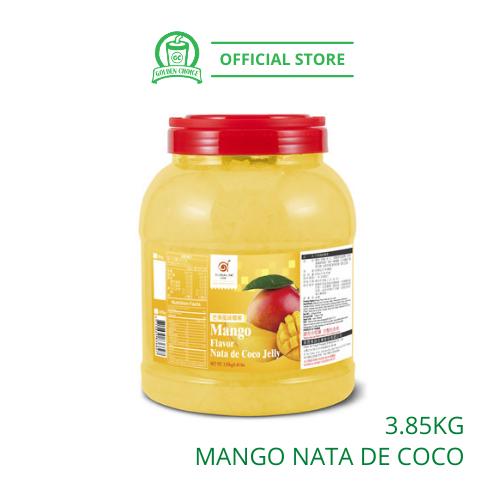 MANGO NATA DE COCO 3.85kg 椰果 - Topping | Coconut Jelly | BUBBLE TEA | Ta Chung Ho | Taiwan Imported