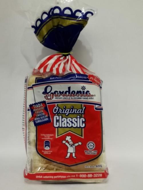 GARDENIA  ORIGINAL CLASSIC 400G 面包