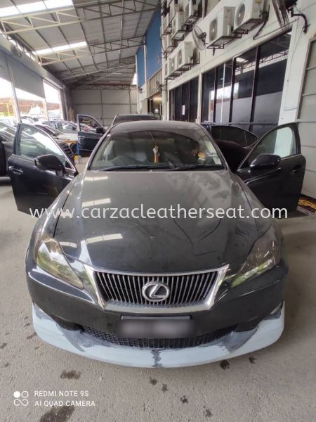 LEXUS IS 250 SEAT REPLACE SYNTHETIC LEATHER FROM BEIGE TO ALL BLACK COLOUR  Car Leather Seat Cheras, Selangor, Kuala Lumpur, KL, Malaysia. Service, Retailer, One Stop Solution | Carzac Sdn Bhd