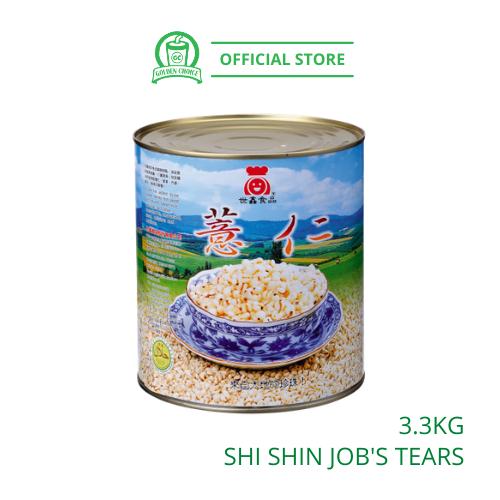 Job Tears 3.3kg 薏仁 - 即食即用 | Shi Shin | Can | Taiwan | Topping | Instant Grain
