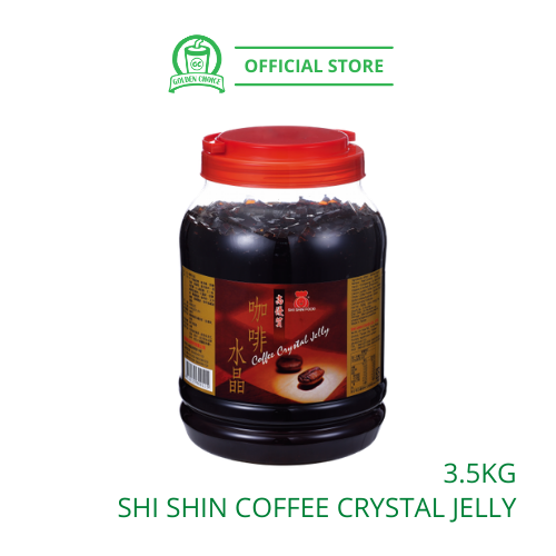 COFFEE CRYSTAL JELLY 3.5KG 咖啡水晶 - Topping | Shi SHin | Agar Pearl | Taiwan Imported