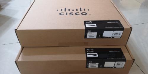 Cisco 28-Port Gigabit PoE Managed Switch : SG350-28P