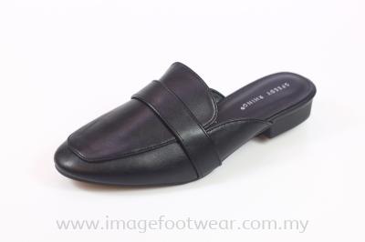 Speedy Rhino Ladies Half-Slip-On Shoes- SR-53-1556- BLACK Colour