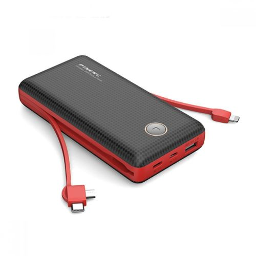 PINENG PN-959 20000mAh Built-In 2 Cable Lithium Polymer Power Bank