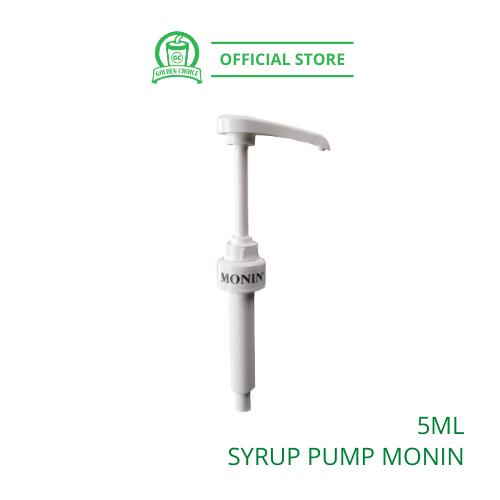 MONIN SYRUP PUMP 5ml - Monin syrup bottle | convenient | easy