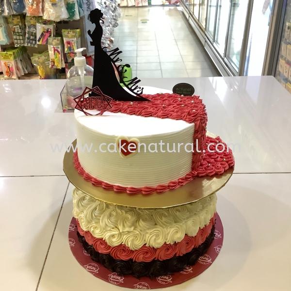 Wedding Custom Made Cakes Malaysia, Selangor, Kuala Lumpur (KL), Kapar Supplier, Delivery, Supply, Supplies | Natural Cake House