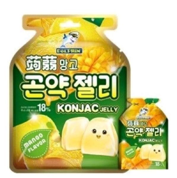 Konjac Jelly Mango 20g Korean Food Selangor, Malaysia, Kuala Lumpur (KL), Batu Caves Supplier, Delivery, Supply, Supplies | GS Food Online Services