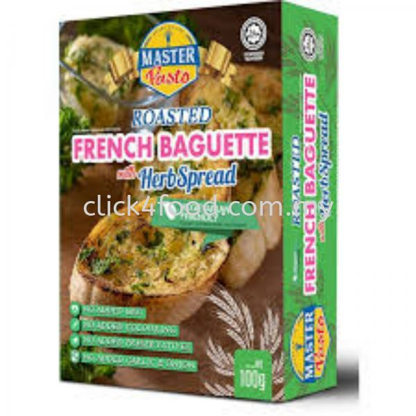 Roasted French Baguette 100g Master Pasto Selangor, Malaysia, Kuala Lumpur (KL), Batu Caves Supplier, Delivery, Supply, Supplies | GS Food Online Services