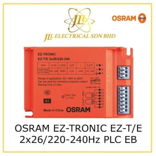 OSRAM EZ-TRONIC EZ-T/E 2x26/220-240Hz PLC ELECTRONIC BALLAST