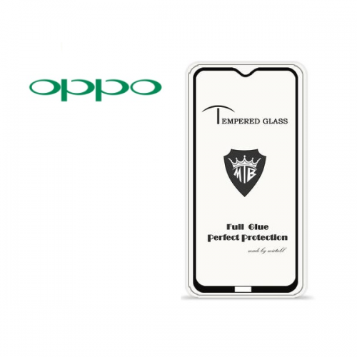 Tempered Glass 10D Oppo Glass