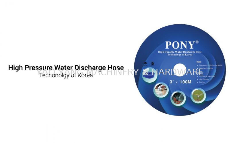"""High Pressure Water Discharge Hose 2"""" X 100m"""