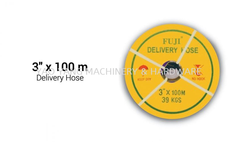 """Delivery Hose 3""""x100mm"""