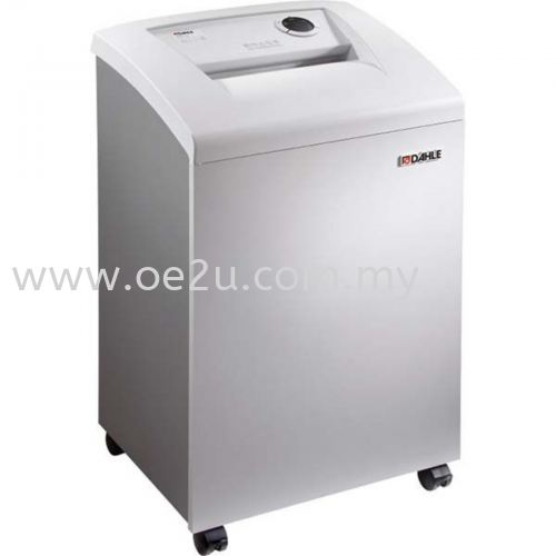 DAHLE 50314 Departmental Cross Cut Document Shredder - MHP Technology - Oil Free (Made in Germany)