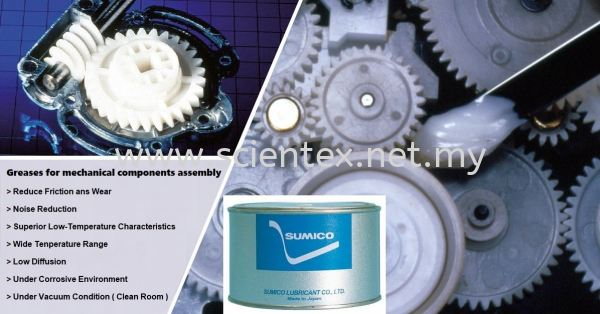 Grease For Mechanical Components  Greases Sumico Lubrication Design Solutions Perak, Malaysia, Menglembu Supplier, Distributor, Supply, Supplies   Scientex Engineering & Trading Sdn Bhd