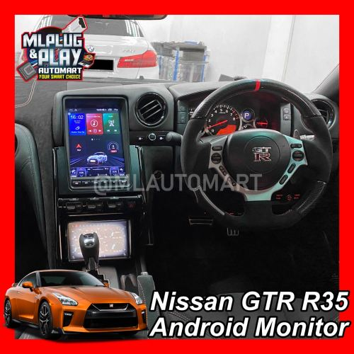 Nissan GTR R35 Big Screen Touch Screen Android Monitor