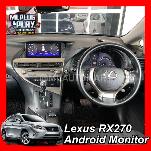 Lexus RX270 Touch Screen Android Monitor