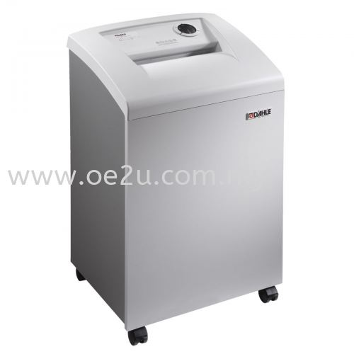 DAHLE 40422 Departmental Micro-Cut Document Shredder - BaseCLASS (Made in Germany)