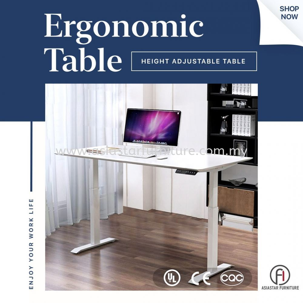 Why You Need A Ergonomic Table / Height Adjustable Table?