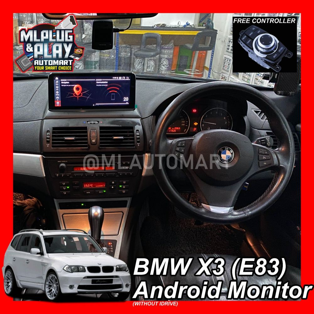BMW X Series X3 E83 (without IDrive) - Touch Screen Android Monitor
