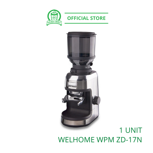 WELHOME COFFEE GRINDER ZD-17N - Conical Burr   Home Use   Commercial   Espresso