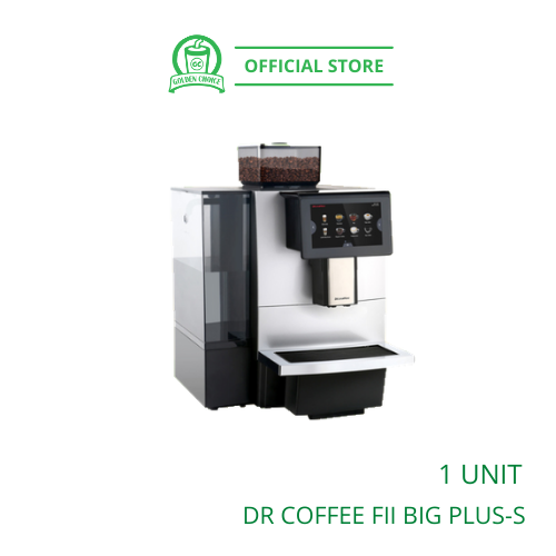 DR COFFEE FII BIG PLUS-S SINGLE GRINDER with TANK & with INLET FULLY AUTO COFFEE MACHINE