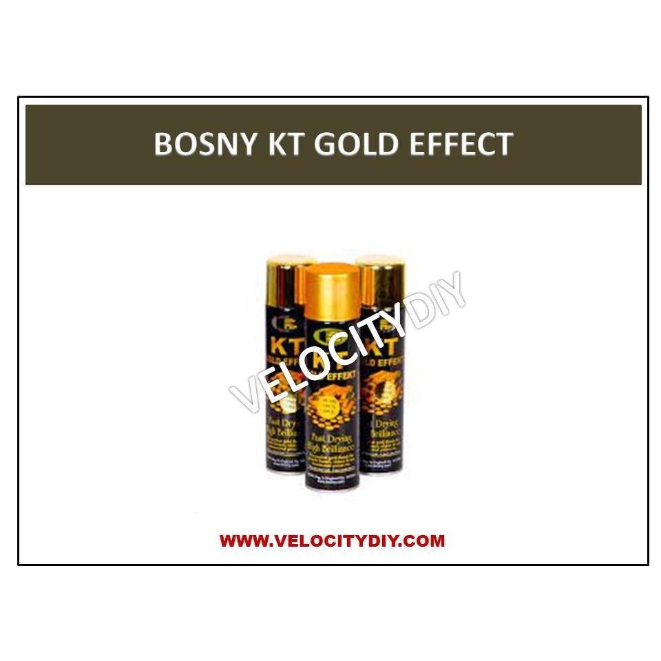 (镜面镀膜喷漆)BOSNY KT GOLD EFFECT SPRAY PAINT 200cc