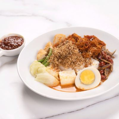 SIGNATURE LONTONG WITH CHICKEN MEAT �������Ƹ�¡��+�������ϼ���