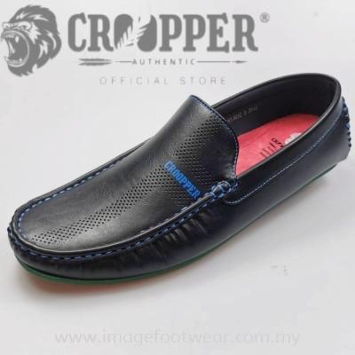 CROOPPER Men Mocassin CM-83-8012 BLACK Colour