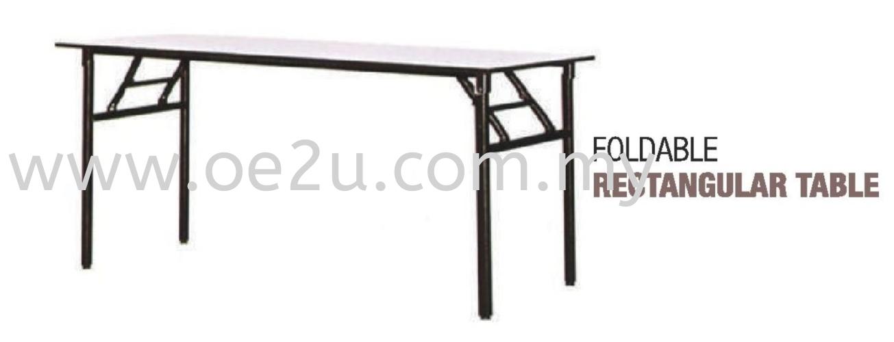 Foldable Rectangular Table (Medium Duty)