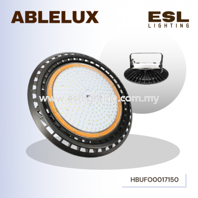 ABLELUX 150W HIGH BAY UFO Round LED LIGHT 16500 LUMEN POWER FACTOR 0.95 AC100- 277V ISOLATED DRIVER