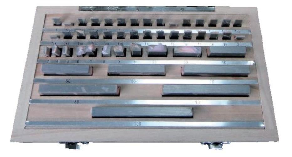 47Pc Metric Steel Gauge Block Sets