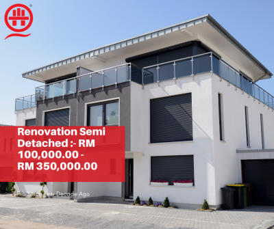 Book Now- Renovation Specialist Detached House In Kuala Lumpur/Shah Alam.