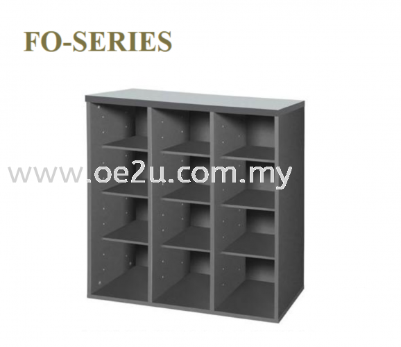 Low Pigeon Hole Cabinet - 12 Holes (FO Series)