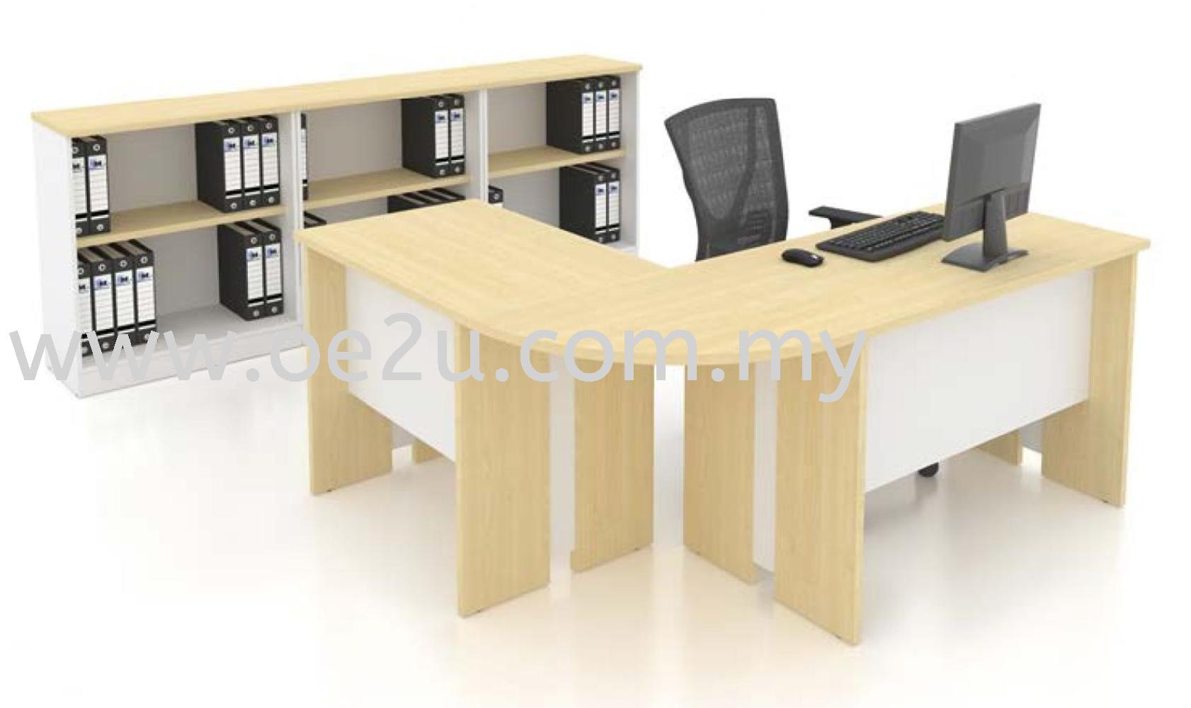 Executive L-Shape Table - SMALL (FM Series)