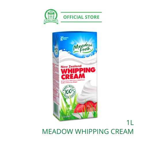 MEADOW Whipping Cream 1L 淡奶油 - Concentrate | Liquid | Cake | Bakery